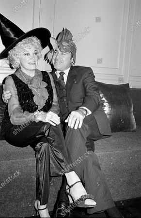 Stock Image of UNITED STATES - OCTOBER 30:  Phyllis Diller and Dr. Donald Levy