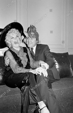 Stock Picture of UNITED STATES - OCTOBER 30:  Phyllis Diller and Dr. Donald Levy
