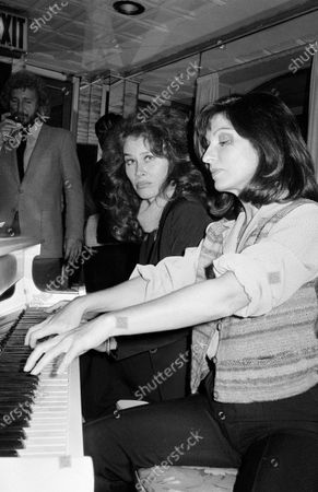 UNITED STATES - OCTOBER 01:  Marie-France Pisier and Karen Black