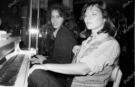 UNITED STATES - OCTOBER 01:  Karen Black and Marie-France Pisier