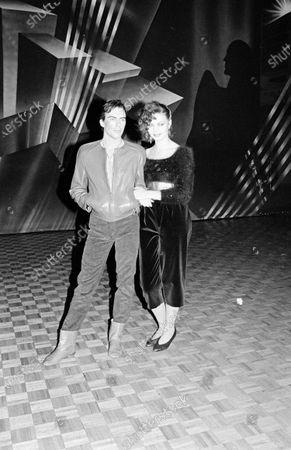 UNITED STATES - NOVEMBER 07:  Maria Burton with Michael Wilding