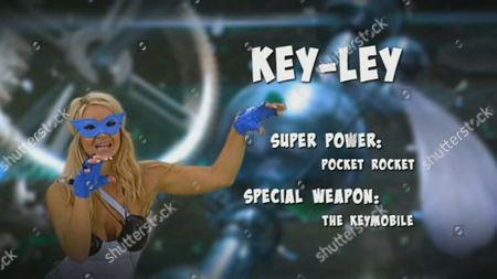 Keeley Johnson as a new superhero
