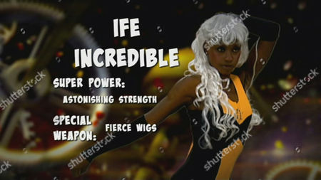Ife Kuku as a new superhero