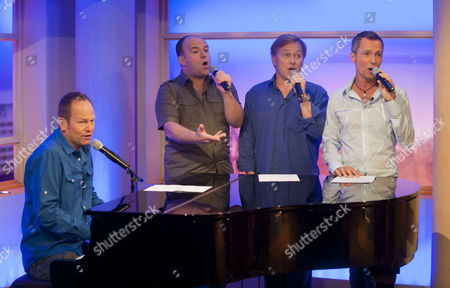 4 Poofs and a Piano - David Roper, David Wickenden, Ian Parkin and Stephen de Martin