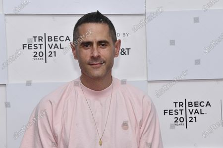 """Josh Swade attends the premiere of """"Ricky Powell: The Individualist"""" during the 20th Tribeca Festival at Brookfield Place, in New York"""