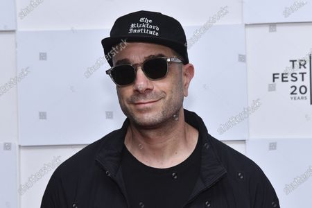 """Tono Radvany attends the premiere of """"Ricky Powell: The Individualist"""" during the 20th Tribeca Festival at Brookfield Place, in New York"""