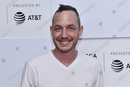 """Christopher McGlynn attends the premiere of """"Ricky Powell: The Individualist"""" during the 20th Tribeca Festival at Brookfield Place, in New York"""