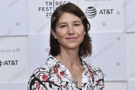 """Jennifer Albanese attends the premiere of """"Ricky Powell: The Individualist"""" during the 20th Tribeca Festival at Brookfield Place, in New York"""