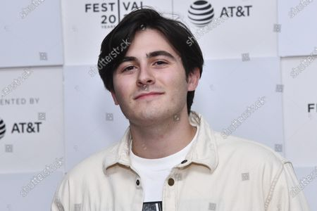 """Jasper Cicero attends the premiere of """"Ricky Powell: The Individualist"""" during the 20th Tribeca Festival at Brookfield Place, in New York"""