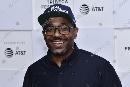 """Loren Hammonds attends the premiere of """"Ricky Powell: The Individualist"""" during the 20th Tribeca Festival at Brookfield Place, in New York"""