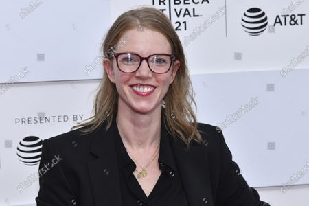 """Rebecca Teitel attends the premiere of """"Ricky Powell: The Individualist"""" during the 20th Tribeca Festival at Brookfield Place, in New York"""