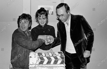 UNITED STATES - MAY 16:  Dudley Moore, Elizabeth Mcgovern and Marshall Brickman