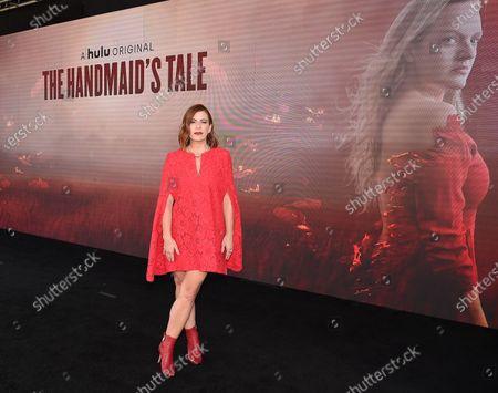 Editorial photo of HULU's 'The Handmaid's Tale' FYC Drive-In Screening And Virtual Panel, Pasadena, California, USA - 14 Jun 2021