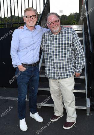 Stock Photo of Warren Littlefield and Bruce Miller
