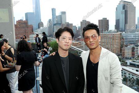 Stock Photo of Erick Oh (Director), Prabal Gurung