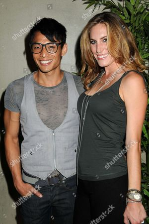 Stock Image of Gregory Woo and guest