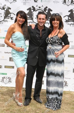 Lizzie Cundy, Antony Costa and Vicky Michelle