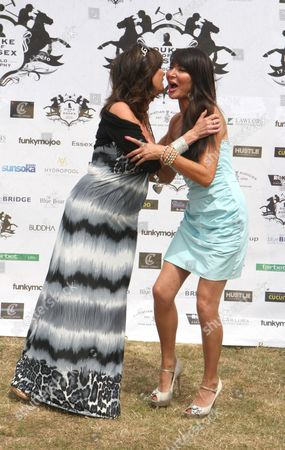 Vicky Michelle and Lizzie Cundy