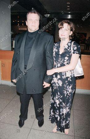 UNITED STATES - JANUARY 01:  Singer Meatloaf, aka Marvin Lee Aday, and wife Leslie Edmonds