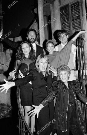 "UNITED STATES - APRIL 01:  Cast of ""Legs"" Debora Gefner, Gwen Verdon, Sheree North, David Marshall Grant, Gregory Harrison"