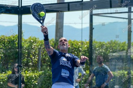 Editorial image of Sports Personalities During The Padel Solidarity At The Rieti Sport Festival, Italy - 13 Jun 2021