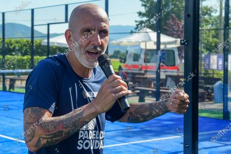 Editorial picture of Sports Personalities During The Padel Solidarity At The Rieti Sport Festival, Italy - 13 Jun 2021