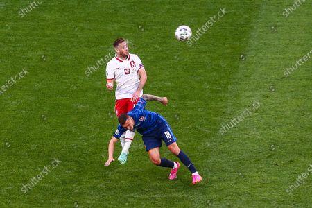 Editorial image of Poland v Slovakia - UEFA Euro 2020: Group E, Saint Petersburg, Russia - 14 Jun 2021