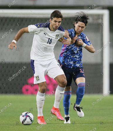 Editorial photo of Japan vs Serbia, Kobe, Japan - 11 Jun 2021