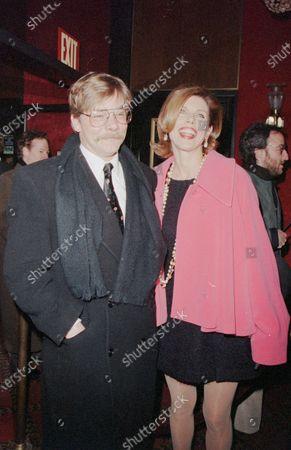 Stock Photo of UNITED STATES - JANUARY 01:  Matthew Cowles and Christine Baranski