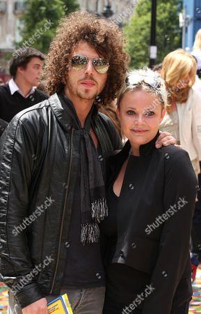 Jonny Davies and Gail Porter