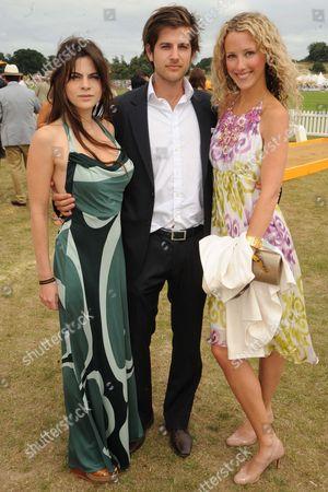 Martha Freud, Jack Freud and Kate Melhuish