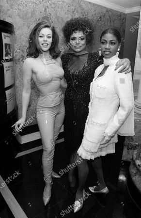 UNITED STATES - MARCH 01:  Eartha Kitt and Lady Miss Kier