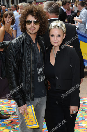 Stock Photo of Johnny Davies and Gail Porter
