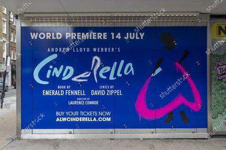Andrew Lloyd Webber's 'Cinderella' postponed, London