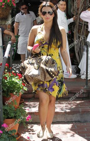 Editorial photo of Kuukla leaving the Ivy Restaurant in Beverly Hills, Los Angeles, America - 18 Jul 2010