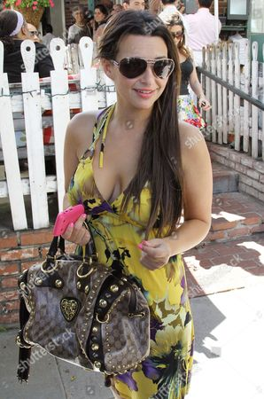Editorial image of Kuukla leaving the Ivy Restaurant in Beverly Hills, Los Angeles, America - 18 Jul 2010