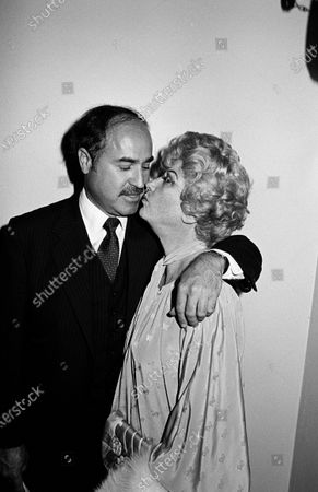 UNITED STATES - JUNE 01:  Dr. Donald Levy and Phyllis Diller