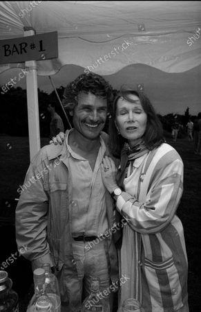UNITED STATES - JULY 01:  David Christian and Katherine Helmond