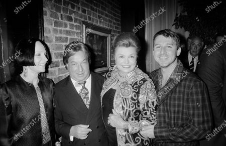 UNITED STATES - JANUARY 01:  Todd Oldham and Arnold Scaasi, Mary McFadden and Mary McFadden