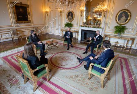 Editorial photo of King Philippe receives US President Joe Biden, Brussels, Belgium - 15 Jun 2021