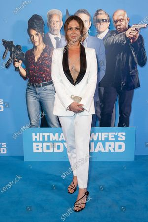 Editorial photo of 'The Hitman's Wife's Bodyguard' film screening, Arrivals, Cineworld Leicester Square, London, UK - 14 Jun 2021
