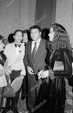 Editorial photo of Muhammad Ali and Yolanda Ali