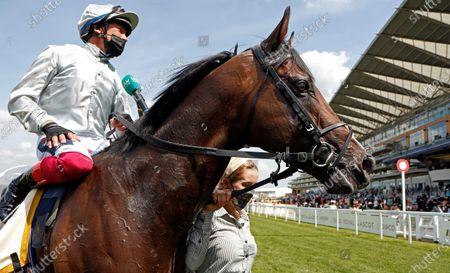 Editorial photo of Horse Racing - 15 Jun 2021