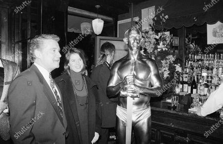 Editorial image of Regis Philbin and daughter Joanna Philbin