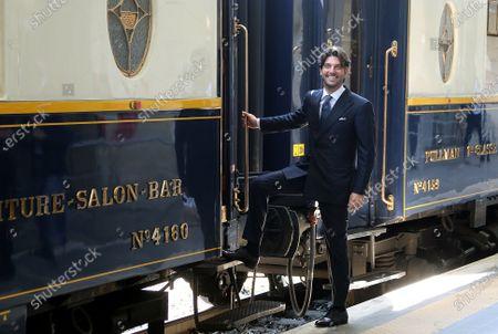 Editorial picture of Presentation of the Dolce Vita Train, Rome, Italy - 15 Jun 2021
