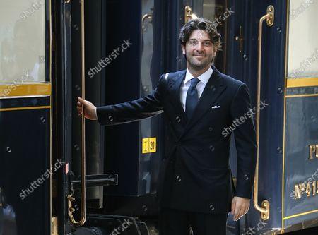 Editorial photo of Presentation of the Dolce Vita Train, Rome, Italy - 15 Jun 2021