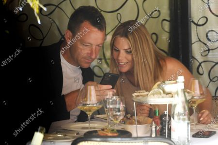 John Terry and Toni Terry out and about, London