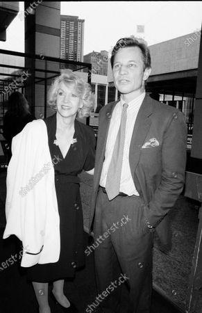 UNITED STATES - JANUARY 01:  Michael York and wife Patricia McCallum