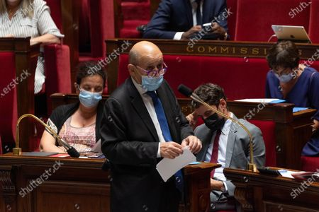 Editorial photo of Weekly session of questions to the government, Paris, France - 15 Jun 2021
