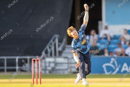 Editorial picture of Yorkshire Vikings County Cricket Club v Leicestershire Foxes County Cricket Club, Vitality T20 Blast North Group - 15 Jun 2021